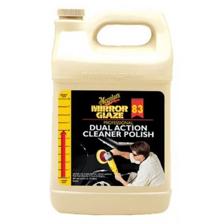 Meguiar's M8301 Mirror Glaze Dual Action Cleaner Polish - 1 Gallon (3.78 Liter)