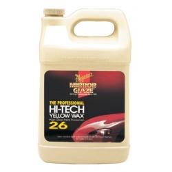 Meguiar's M2601 Yellow Hi-Tech Wax - 1 Gallon (3.78 Liter)