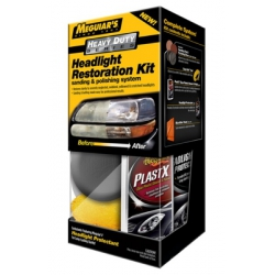 Jual Meguiars : G3000 Brilliant Solutions Heavy Duty Headlight Restoration Kit - Mengembalikan kejernihan kaca lampu mobil