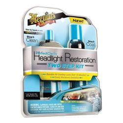 Jual Meguiars : Meguiar's Perfect Clarity 2 Step Headlight Restoration Kit - Harga Pembersih Lampu Mobil yg Kusam Paling Murah