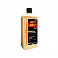 Meguiar's M100 Mirror Glaze Pro Speed Compound 32 oz / 945 ml ( M10032 ) - Meguiars Kompon Poles Mobil