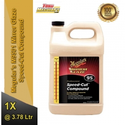 M95 Mirror Glaze® Speed Cut™ Compound, 1 Gallon