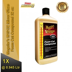 Meguiar's M101 Mirror Glaze Foam Cut Compound 32 oz / 945 ml ( M10132 ) - Meguiars Kompon Poles Mobil