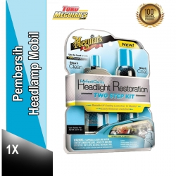 Jual Meguiars G2000 : Meguiar's Perfect Clarity 2 Step Headlight Restoration Kit - Harga Pembersih Lampu Mobil yg Kusam Murah