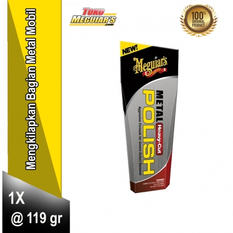 Meguiar's Heavy Cut Metal Polish