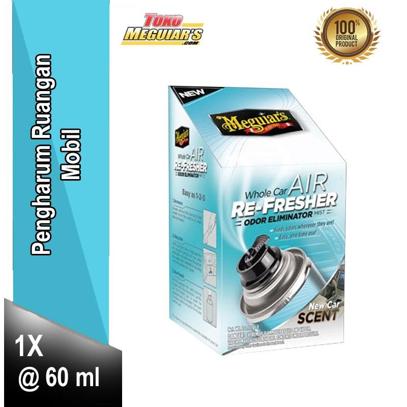 Car Odor Eliminator >> Meguiar S Whole Car Air Re Fresher Odor Eliminator 60 Ml G16402 Meguiars Pengharum Ruangan