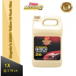 Meguiar's M2601 Yellow Hi-Tech Wax - 1 Gallon (3.78 Liter)